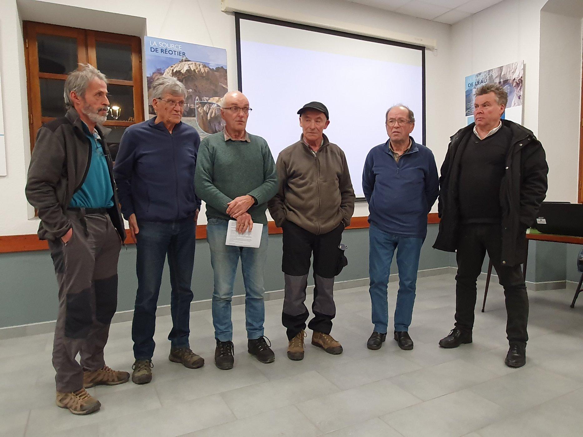 Association «Patrimoines de Réotier» : le bureau