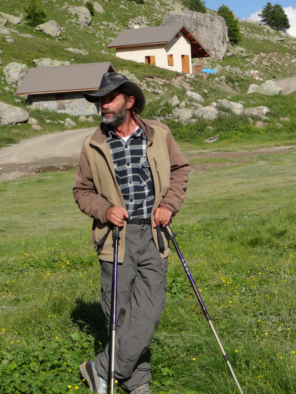 Pascal Labbé sur ses terres de l'Alp (9/8/2013)