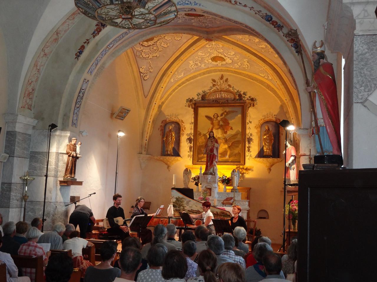 Concert 2/8/2015 Ensemble Les Faveurs Musicales Guil Durance.