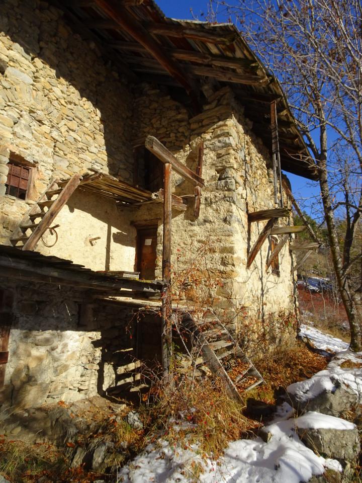 Au Bas Villard la maison des Domeny des Moulinets.