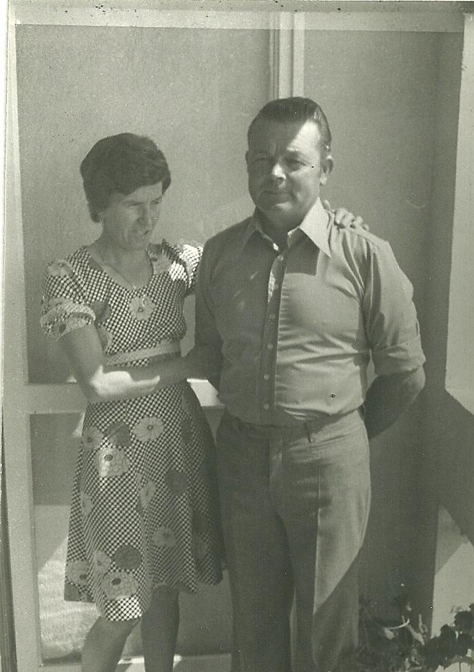 Le couple Escoffier dans les années 70. Belle photo, belles personnes ! (Ph.Escoffier)