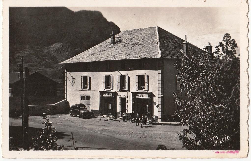 L'hôtel Lacour dans les premiers temps de son activité.(Ph.R.Eymar)