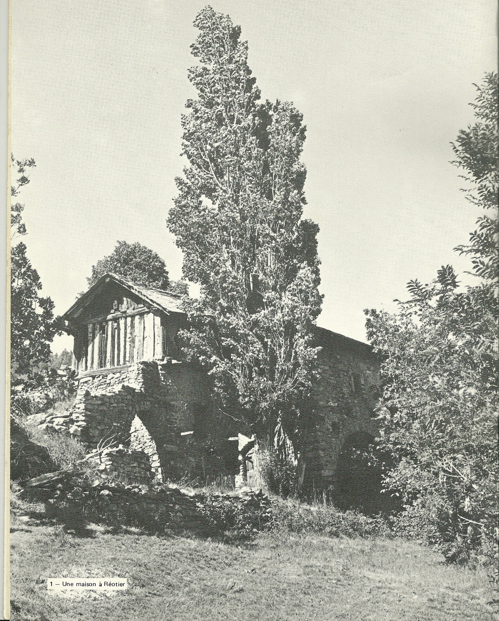La Bourgea , maison Maurel, années 1970 (ph. brochure HA)