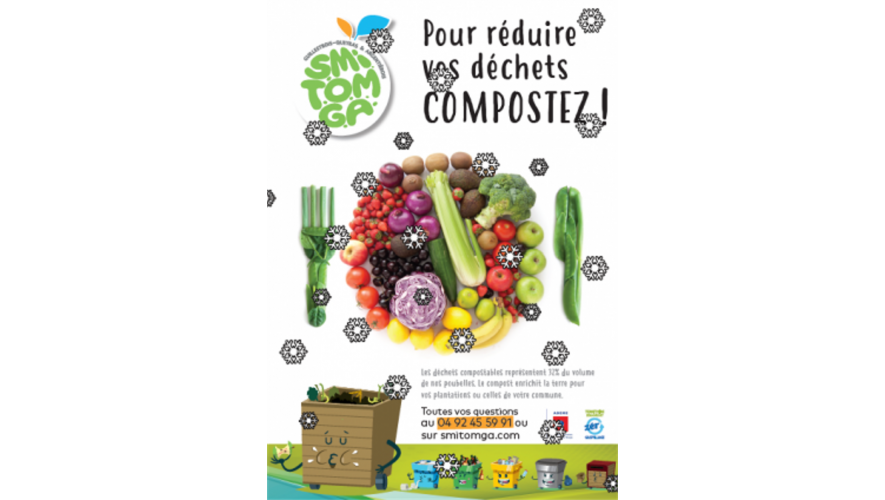 Affiche compostage Smitomga