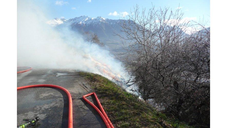 Photo écobuage mars 2011