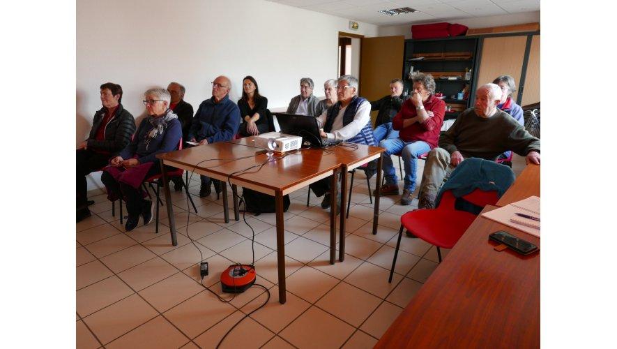 Rencontre du vendredi 19 avril 2019 sur « Réotier, Histoire et histoires d'eau ».