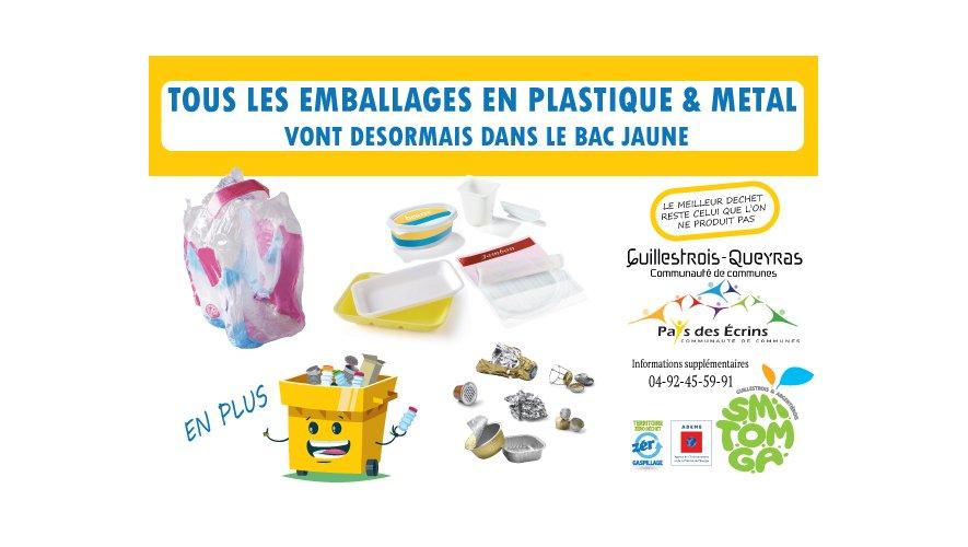 Pancarte tri des déchets 2019