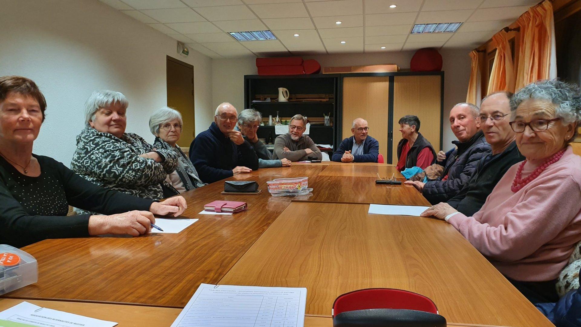 Assemblée générale de l'association « Connexions, savoirs et partage : club des internautes »