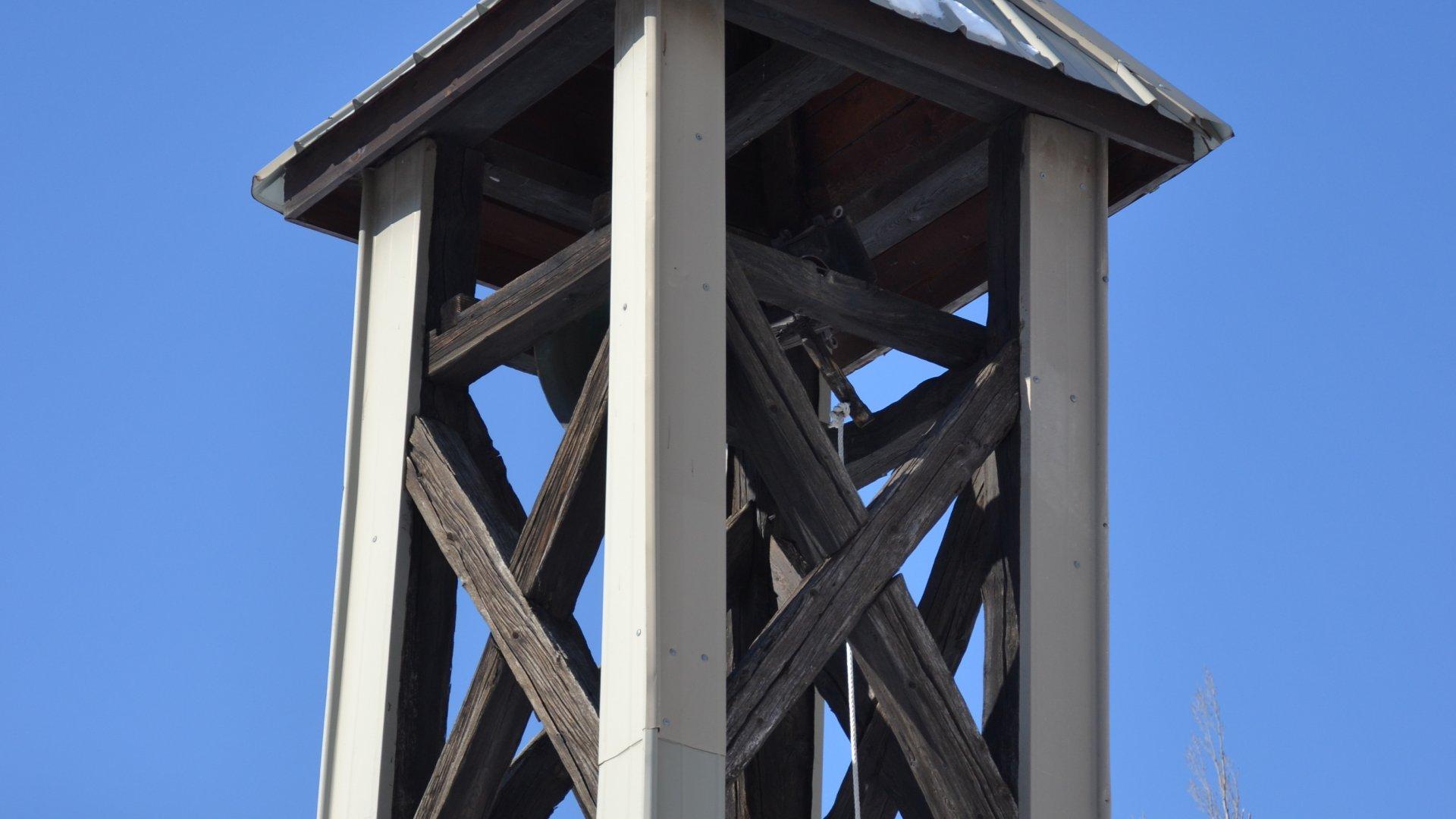 Photo clocher chapelle des Casses