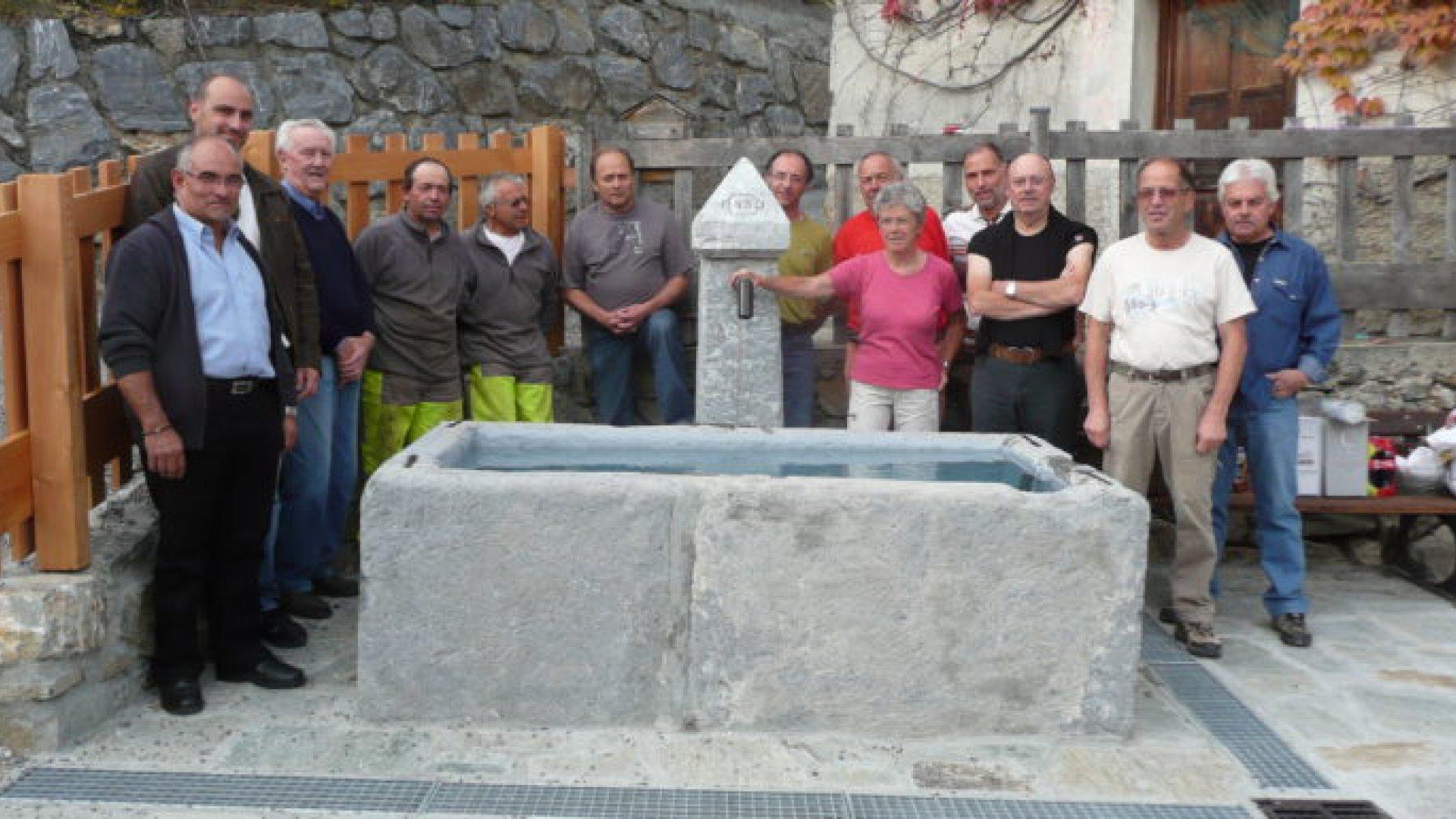 Fontaine des Mensolles