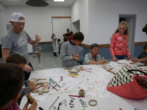 Atelier bricolage de Noël